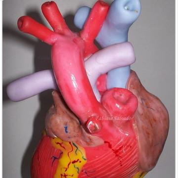 Maquete Coração em Biscuit Macromodelo
