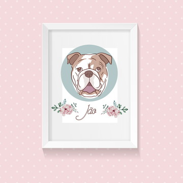 Cachorro Bulldog Inglês