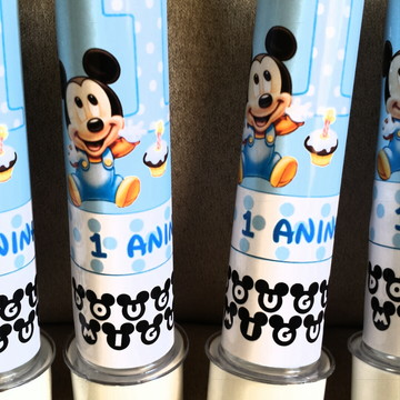 Tubetes Mickey e Mickey Baby