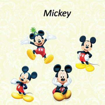 Aplique/ Recortes - Mickey