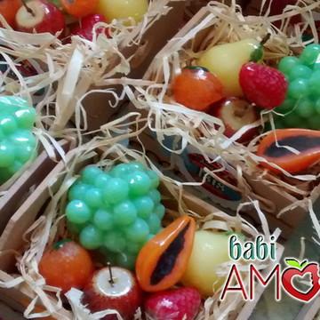 Caixinha Cheirosa - mini frutinhas