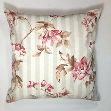 almofada | Listras floral