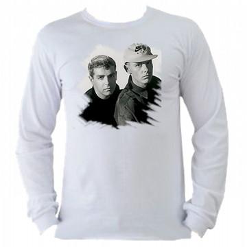 Camiseta Pet Shop Boys manga longa 01