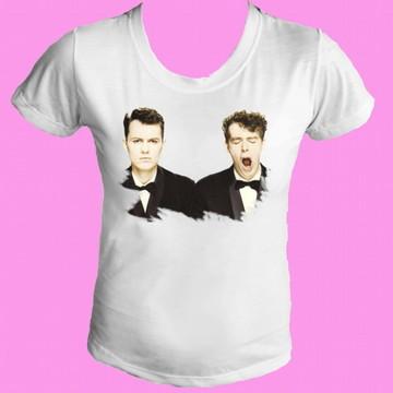 Camiseta babylook Pet Shop Boys 02