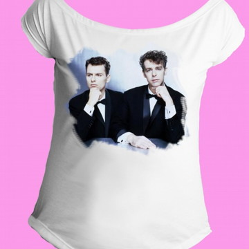 Camiseta Pet Shop Boys gola canoa 05