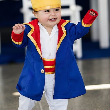 Roupa pequeno principe blazer comprido