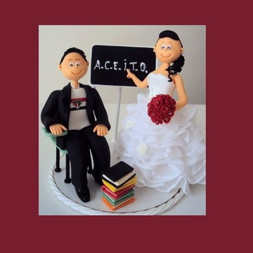 Topo de casamento : noivinha determinada