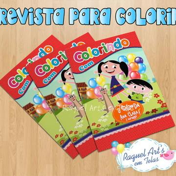 Revista de colorir Show da Luna 1