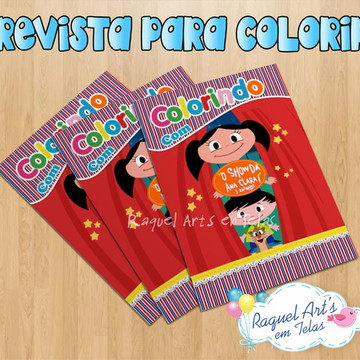 Revista de colorir Show da Luna 2