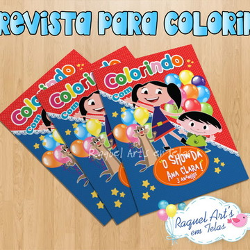 Revista de colorir Show da Luna 3