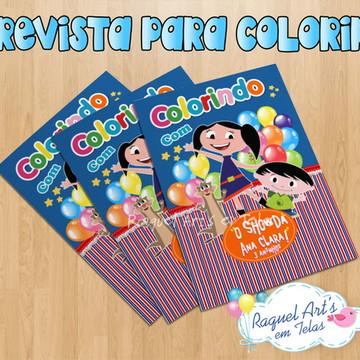 Revista de colorir Show da Luna 4