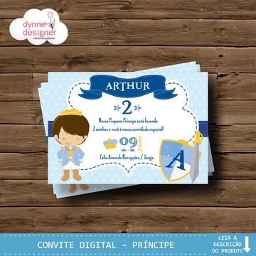 Convite Digital - Príncipe