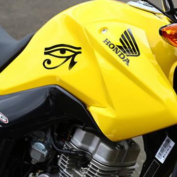 Adesivo olho de horus carro Moto