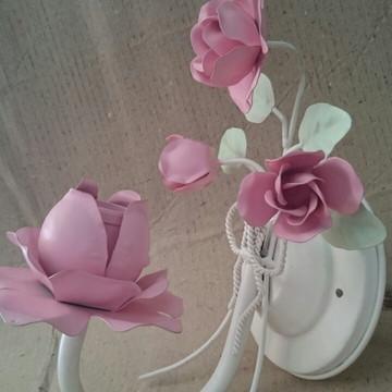 Arandela Floral para 01 Lâmpada Cód:L201