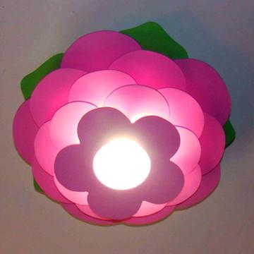 Luminaria Lustre Flor Infantil