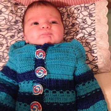 conjunto de croche para bebe masculino