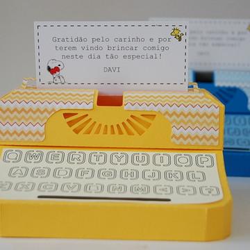 Máquina de escrever - Snoopy