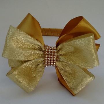 laço luxo dourado