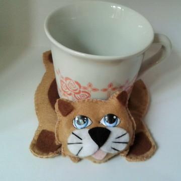 Tapete para caneca gato siamês