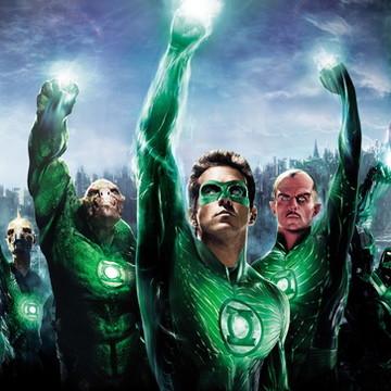 Painel de Festa Lanterna Verde