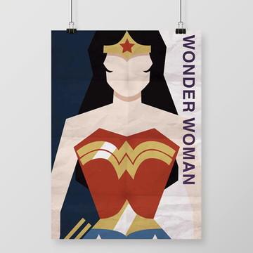 Quadro Wonder Woman / Mulher-Maravilha