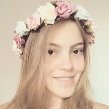 Tiara de Flores - Escolha suas cores!