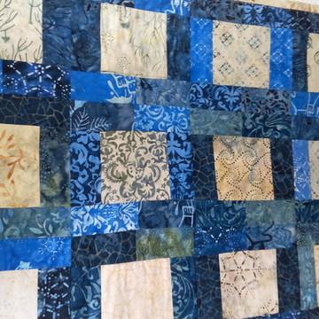 Painel patchwork batique importado