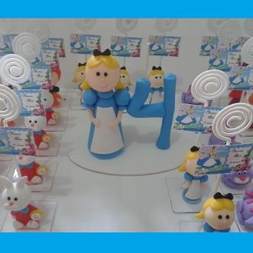 lembrancinha Alice no pais das maravilha