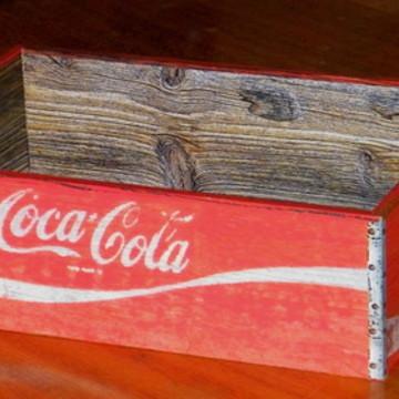 Caixote Coca Cola Red