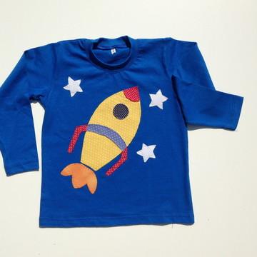 Camiseta ou body foguete