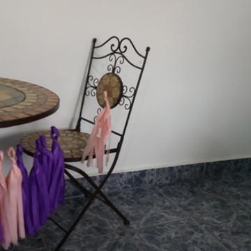 KIT Varal franjas decoração de casamento