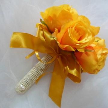 Bouquet para dama e casamento no civil