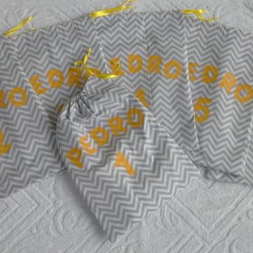 Kit Saquinhos de Maternidade com nome