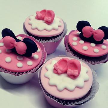 Mini cupcake Minnie Rosa