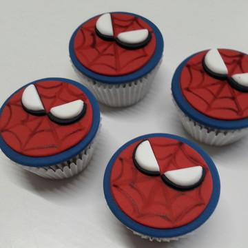 Mini cupcake Homem Aranha