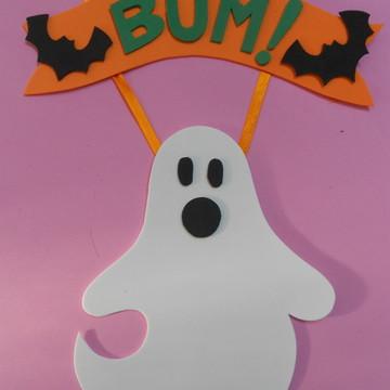 Enfeite de Parede Fantasma Halloween