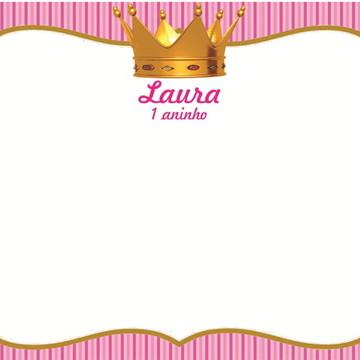 Quadro Mágico Coroa Princesa + BRINDE