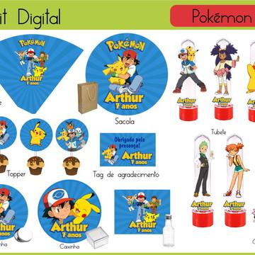Kit festa Digital Pokemón