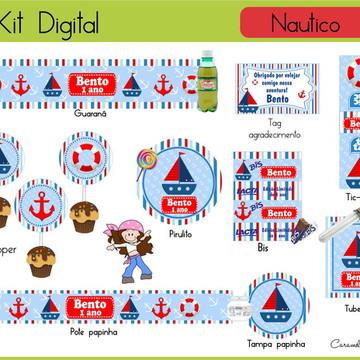 Kit Festa Digital Marinheiro