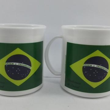 Caneca Plastica Brasil