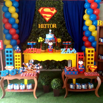 Decoração festa Super Homem / Superman