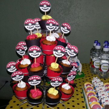 Toppers cupcake Pokemon