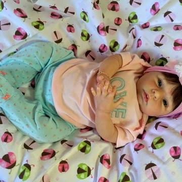 Bebê reborn Natasha 2016. ADOTADA!!