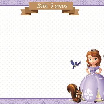 Quadro Mágico Princesa Sofia + BRINDE