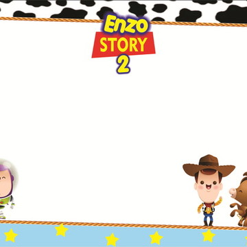 Quadro Mágico Toy Story Cute + BRINDE
