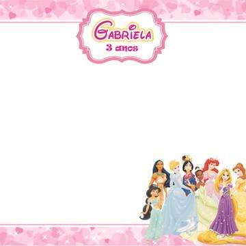Quadro Mágico Princesas Disney + BRINDE
