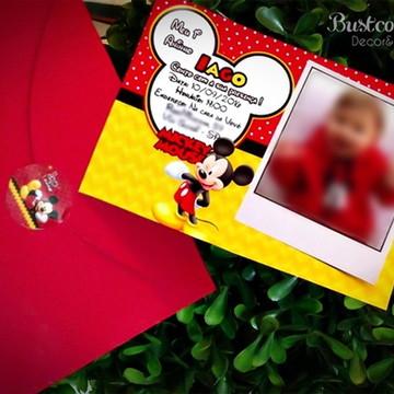 Convite Mickey - Varios temas