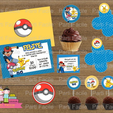 Festa impressa Pokemon Go