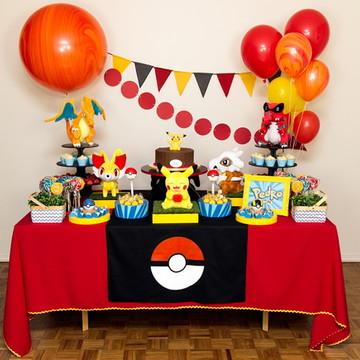 Aluguel Decoração de Festa - Pokémon