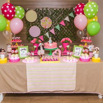 Aluguel Decoração de Festa - Boneca